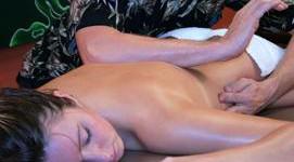 Vier handen massage